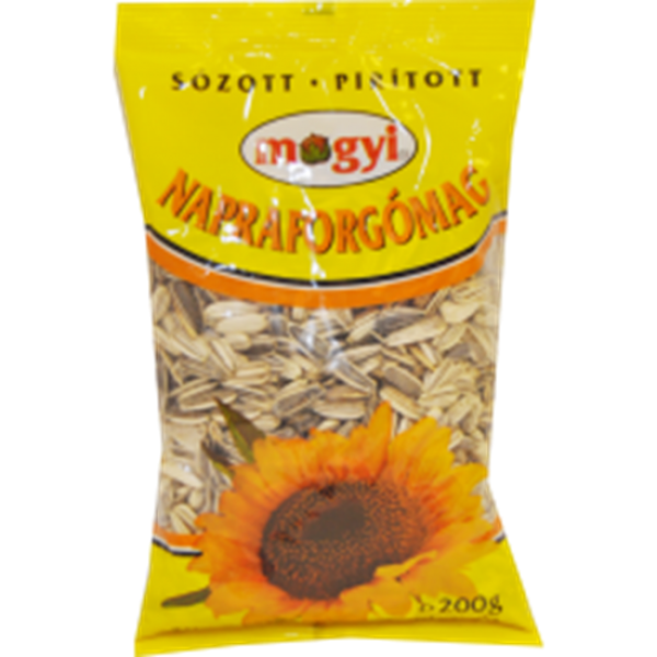 (4)MOGYI SUNFLOWERS SEEDS SALT 200 GR 30/BAX