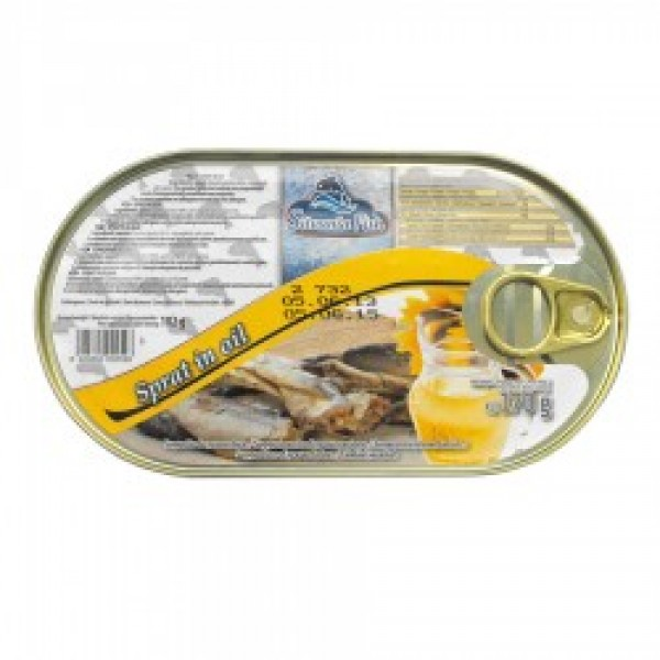 (3)SILVANIA FISH SPRATS IN VEGETABLE OIL 170 GR