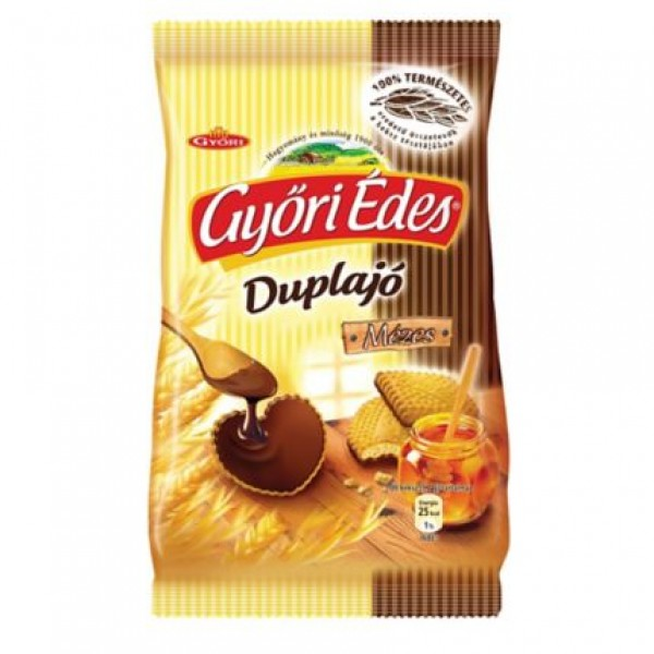 GYORI BISCUITS WITH HONEY 150GR (DUPLAJO MEZES)
