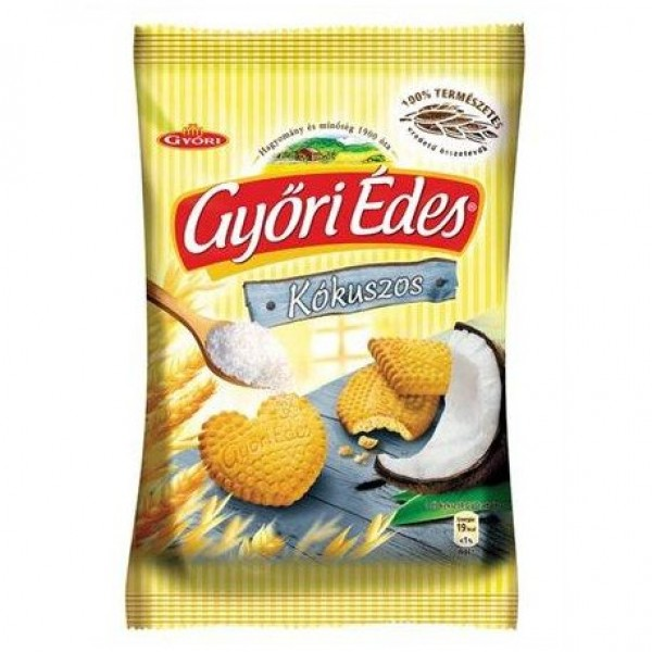 GYORI BISCUIT WITH COCONUTS 180 GR (KOKUSZ)