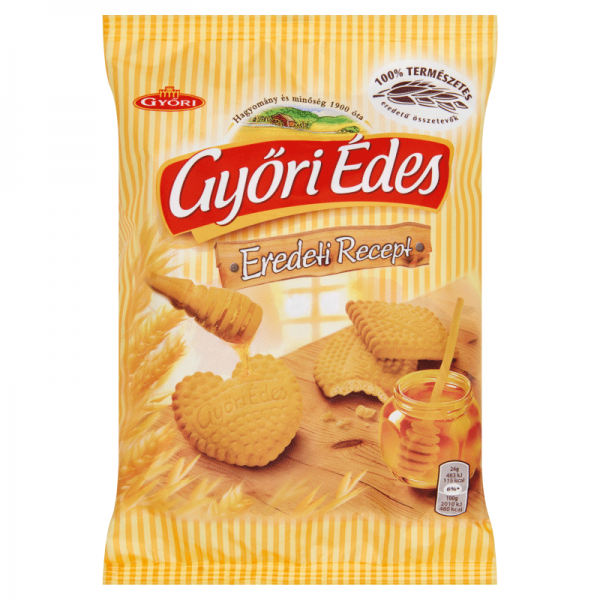 GYORI EDES BISCUIT WITH HONEY 180GR 21/BAX