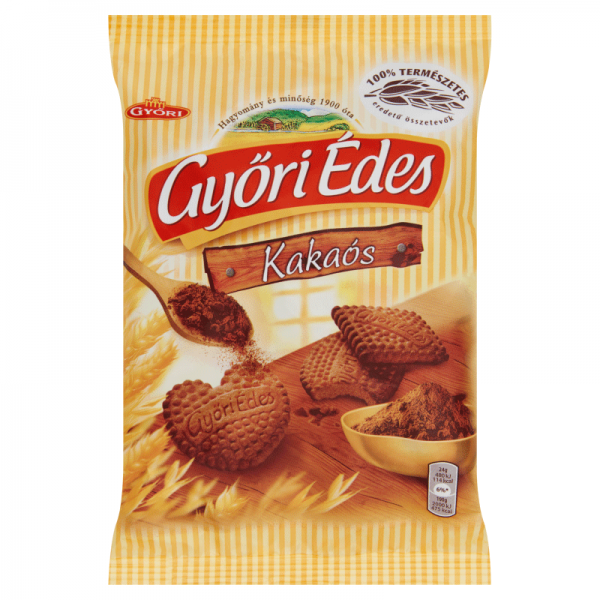 GYORI BISCUIT SWEET 180 GR COCOA 21/BAX