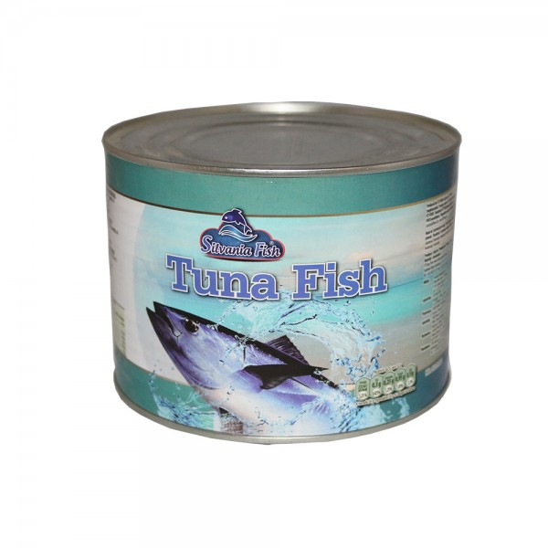 SILVANIA FISH CRUMBLE TON IN VEGETABLE OIL 1750 ML