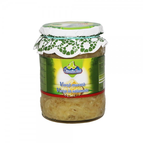 (2)SILVANIA FOOD PICKLED CABBAGE 720 G 4/BAX
