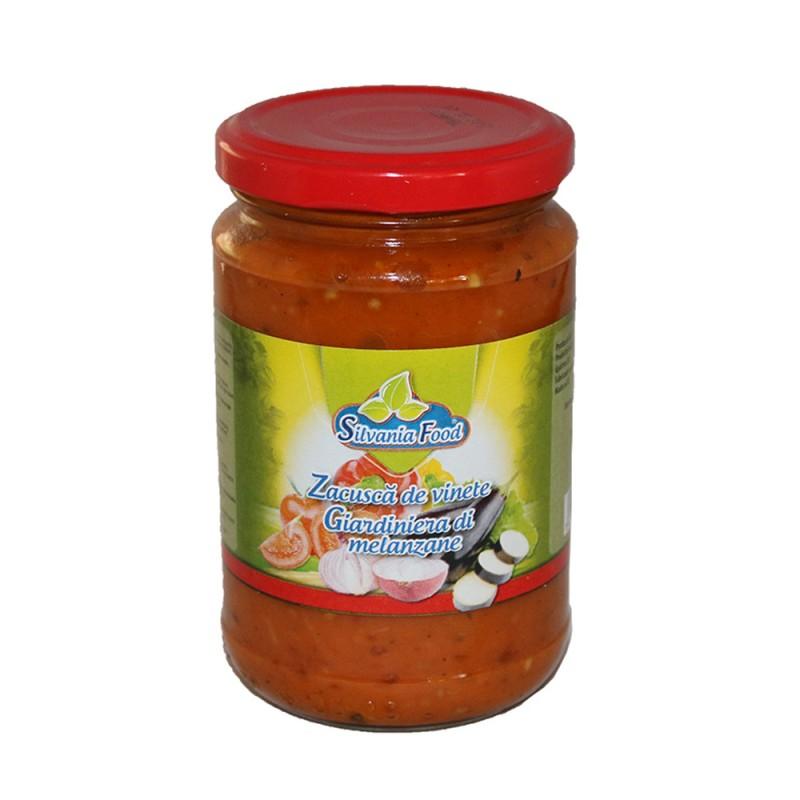 SILVANIA FOOD ZACUSCA WITH EGGPLANT 314ML  6/BAX