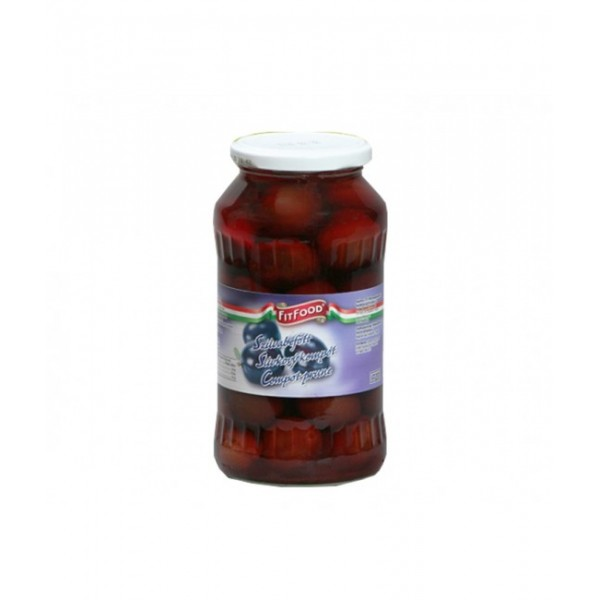 (2)FIT FOOD PLUM COMPOTE 720 ML 8/BAX