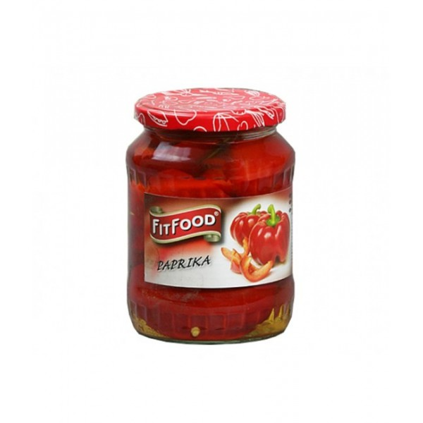 (2)FIT FOOD PEPPERS 720 GR 8/BAX
