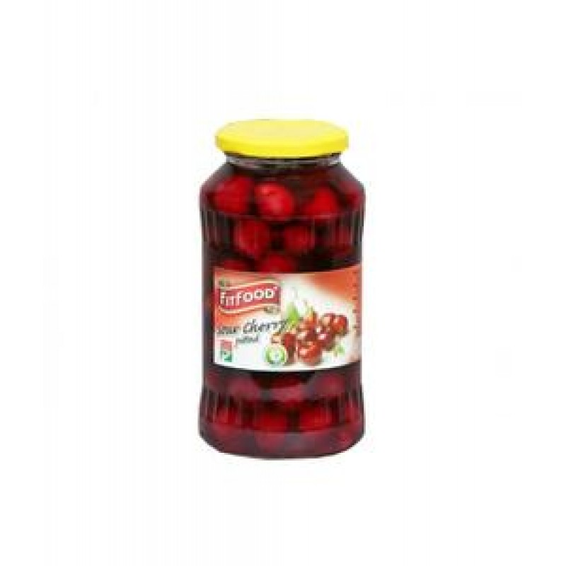 FIT FOOD SOUR CHERRY COMPOTE 720 ML 8/BAX