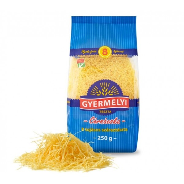 (1)GY.PASTA 8EGGS ANGEL HAIR CERNACSKA 250GR 20/BAX