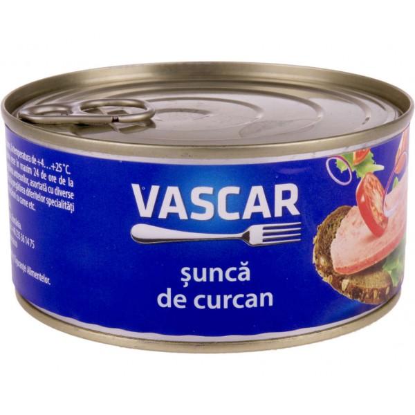 (3)VASCAR TURKEY HAM 300 GR 6/BAX