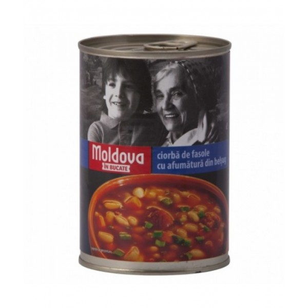 (3)VASCAR MLD BEAN SOUP WITH SMOKED MEAT 6/BAX