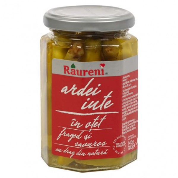 (2)RAURENI HOT PEPPER 280 GR 6/BAX